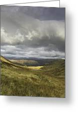 The View From Honister Greeting Card