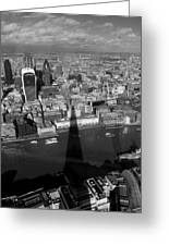 The View From The Shard II Greeting Card