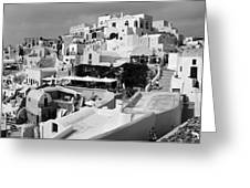 The Village Of Oia 2 Greeting Card