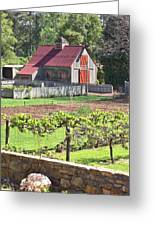 The Vineyard Barn Greeting Card