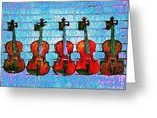 The Violin Store Greeting Card