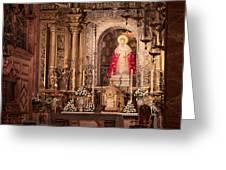 The Virgin Of Hope Greeting Card