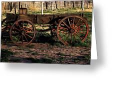 The Wagon Greeting Card