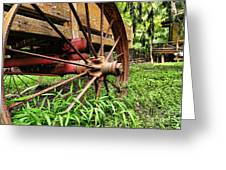 The Wagon Wheel Greeting Card