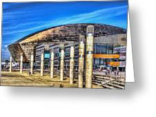 The Wales Millennium Centre Greeting Card