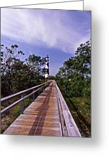 The Walk To Cape Lookout Greeting Card