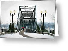 The Walking Bridge Greeting Card