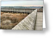 The Walkway Greeting Card by JC Findley