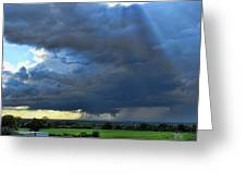 The Wall Cloud Greeting Card