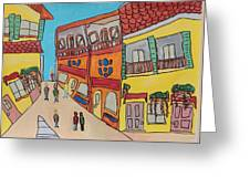 The Walled City Greeting Card