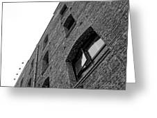 The Walls Have Eyes Greeting Card