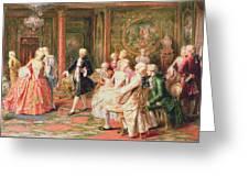 The Waltz Greeting Card