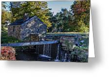 The Water Mill Greeting Card