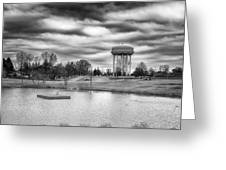 The Water Tower Greeting Card