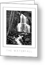 Moss Glen Falls Poster Greeting Card