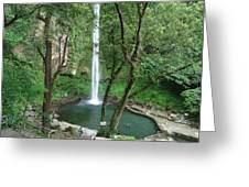 The Waterfalls Greeting Card