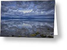 The Waters Beneath Greeting Card