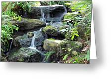 The Waters Shall Spring Forth From The Ground Greeting Card
