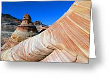 'the Wave' North Coyote Buttes 10 Greeting Card