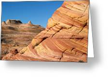 'the Wave' North Coyote Buttes 13 Greeting Card