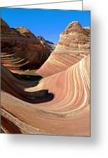 'the Wave' North Coyote Buttes 19 Greeting Card