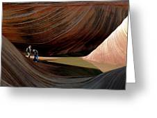 'the Wave' North Coyote Buttes 44 Greeting Card