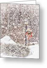 The Weather Outside Is Frightful Greeting Card