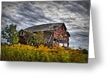The Weathered Barn Greeting Card