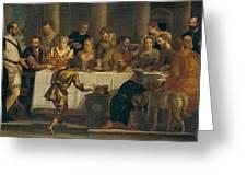 The Wedding At Cana Greeting Card