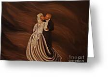 The Wedding Kiss Greeting Card