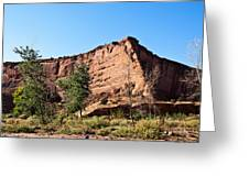 The Wedge Canyon Dechelly Greeting Card