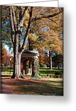 The Well - Davidson College Greeting Card