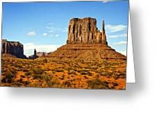 The West Mitten  Greeting Card