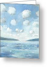 The Western Solent Part Two Greeting Card by Alan Daysh