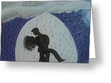 The Wet Kiss Greeting Card