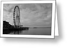 The Wheel And The Ferry Greeting Card
