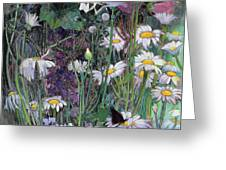 The White Garden Greeting Card