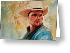 The White Hat Greeting Card