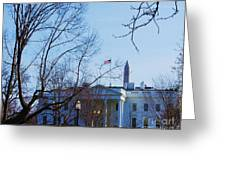 The White House 1 Greeting Card