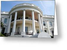 The White House South Portico Greeting Card
