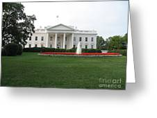 The White House - Washington D C Greeting Card