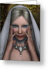 The White Lady Greeting Card