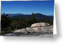 The White Mountains Greeting Card by Steven Valkenberg