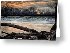 The White River Greeting Card