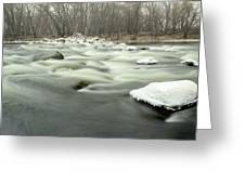 The White Rock  Greeting Card