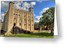 The White Tower Greeting Card