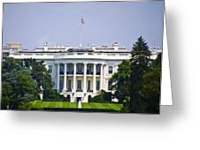 The Whitehouse - Washington Dc Greeting Card