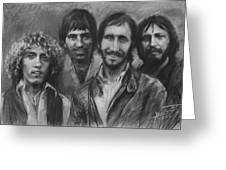 The Who Greeting Card