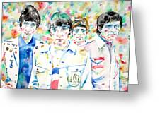 The Who - Watercolor Portrait Greeting Card