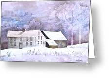 The Wilder Homestead Greeting Card